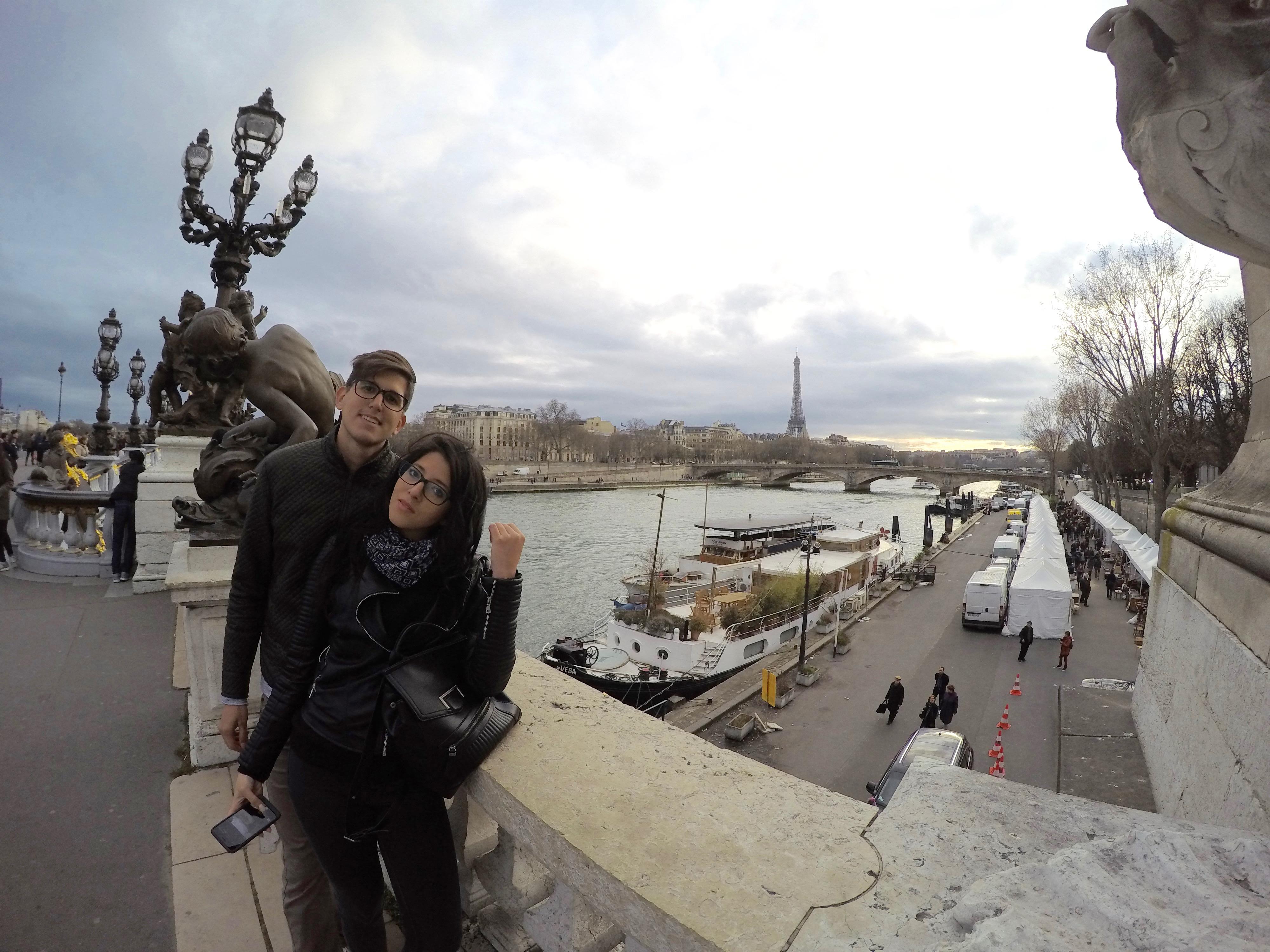 Walking Through Paris